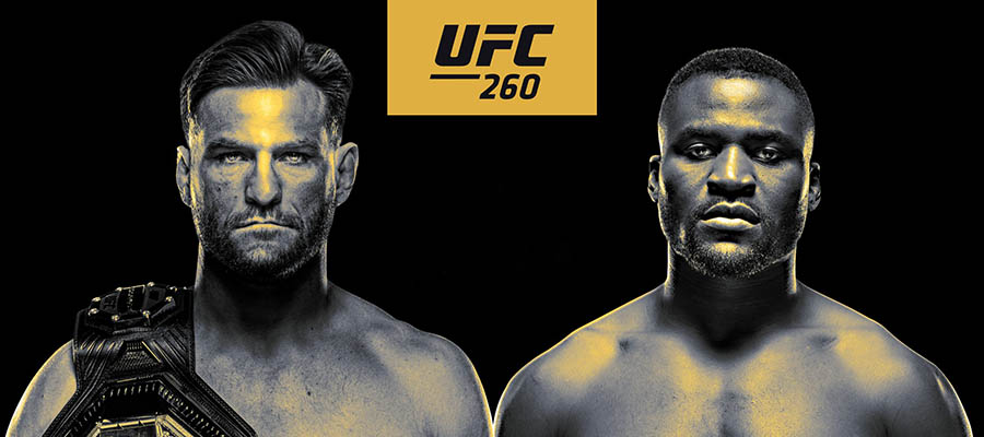 UFC 260: Miocic vs Ngannou 2 Betting Preview